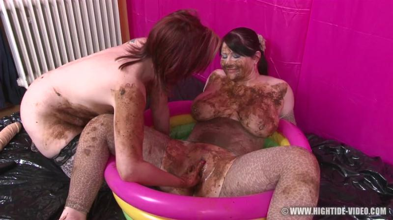 Louise Hunter, Prettylisa, 1 Male - Pretty Lisa & Louise Hunter - Shit Eater 4 (Scat, Lesbians, Group) Hightide-Video [HD 720p]