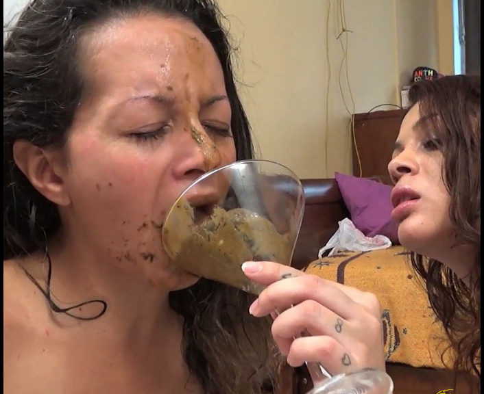 ScatVivian - Youll Pay Me Bitch (Lesbian Scat, Domination)  [FullHD 1080p]