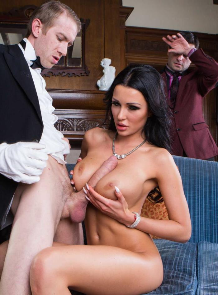 Patty Michova - Banging The Butler (Big tit) - RealWifeStories / Brazzers   [SD 480p]