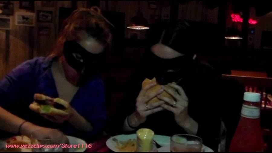 4 Scat Girls - Exercise and Burger for Us and Two Big Shits for You (Scat / Human Toilet) - YezzClips [FullHD]