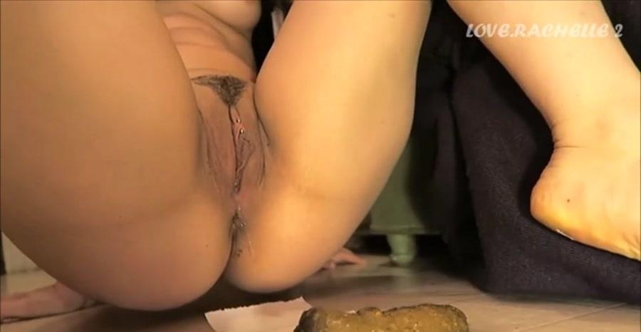 Love Rachelle - Ripping Farts & Shitting (Scat / Solo) - LoveRachelle2 [FullHD 1080p]