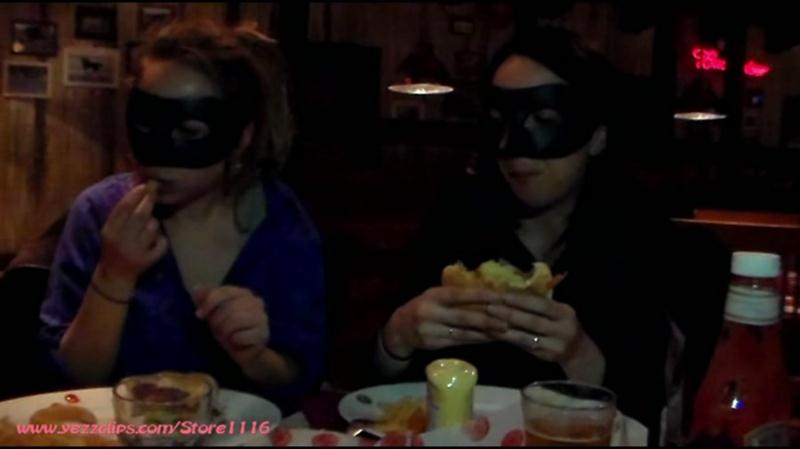 4 Scat Girls - Exercise and Burger for Us and Two Big Shits for You (Scat / Femdom) YezzClips [FullHD 1080p]