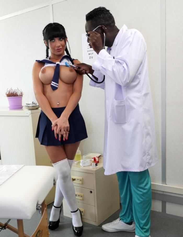 PornoAcademie/Porndoepremium: - Valentina Ricci- Hot school girl Valentina Ricci enjoys hot Mmf threesome in doctors office - [2017|HD|720p|638.6 Mb]