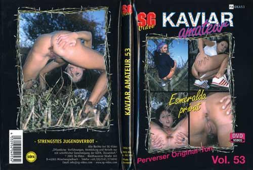 Esmeralda - Sperrgebiet Kaviar Amateur No 53 (Solo Scat, Shitting) SG Video [DVDRip]