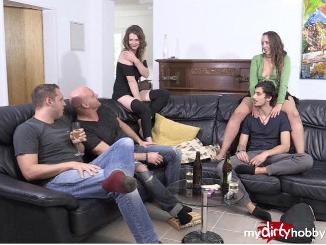 Schluck-Wunder - Party-Nacht eskaliert Komplett - Party night escalated COMPLETE (Orgy) - MyDirtyHobby/MDH [FullHD 1080p]