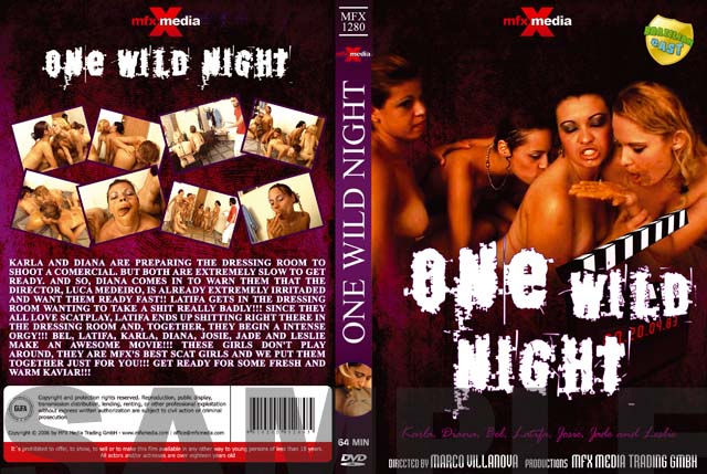 Latifa, Karla, Bel, Diana, Leslie, Josie, Jade - MFX-1280 One Wild Night [DVDRip/700 MB]- Mfx-media