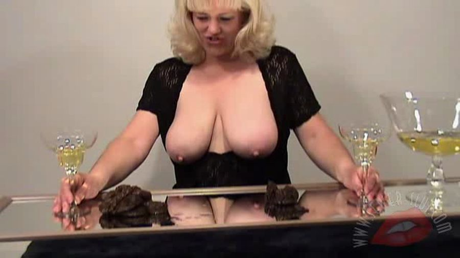 Sewer-Slut: Carol (MILF, Booba Scat) Taste Test [SD]