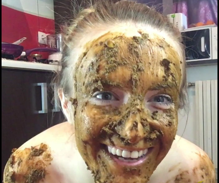 JosslynKane - Extreme Smearing in the Kitchen (Solo Scat)  [FullHD 1080p]