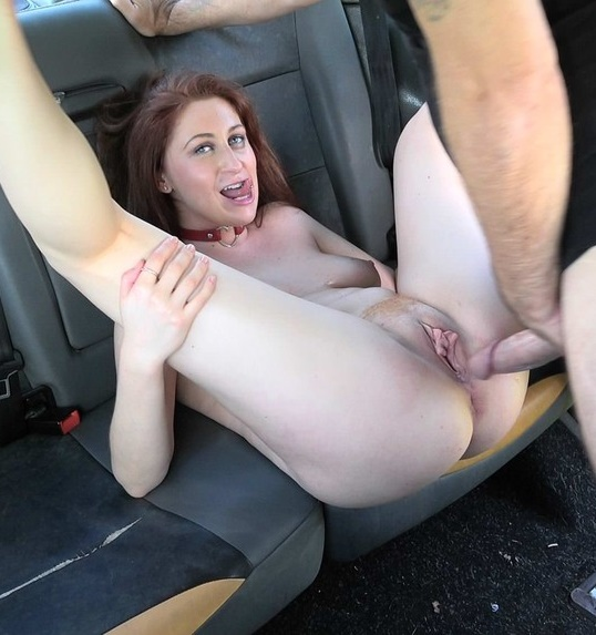 FakeTaxi / FakeHub - Princess Paris - Curvy big tits with ginger bush [SD 480p]