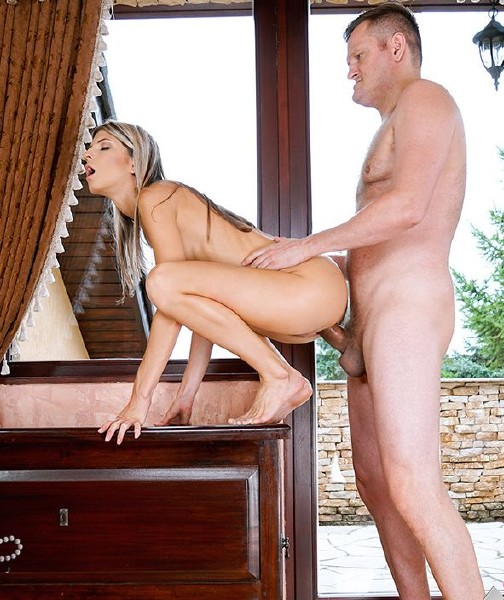 Gina Gerson - The Return Of The Slim Siberian Sex Addict (Teen) - Exxxtrasmall/TeamSkeet [HD 720p]