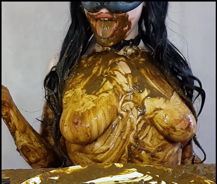 Anna Coprofield - Anna's Private Dinner Vol.2 / 3 Saved and 1 Fresh Shit – PART 4 (Smearing, Scat Solo) Poop Videos [FullHD 1080p]