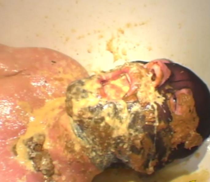 ScatqueensBerlin - Three Bunches Part 3 (Vomit, Scat, Femdom) Eat Vomit Slave [HD 720p]