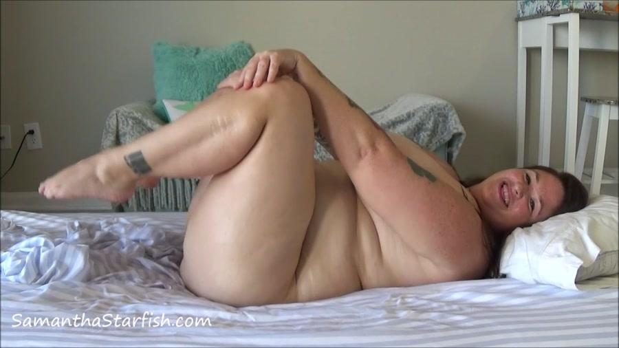 Samantha Starfish - Sensual Pee Bath and Poop Masturbation - BBW Scat - HD 720p