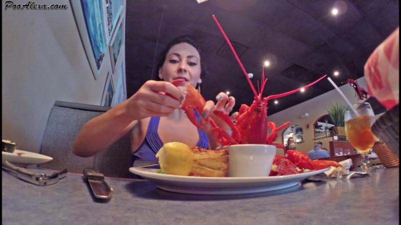 Alexa (Jessica Valentino) - Dine and Dump (Scat / USA) PooAlexa [FullHD 1080p]