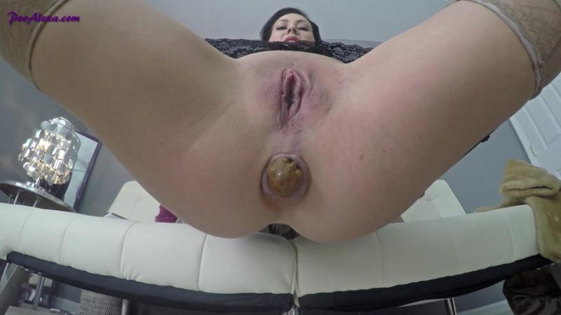 Alexa (Jessica Valentino) - Forced Into Eating My Shit (Scat / USA) PooAlexa [FullHD 1080p]
