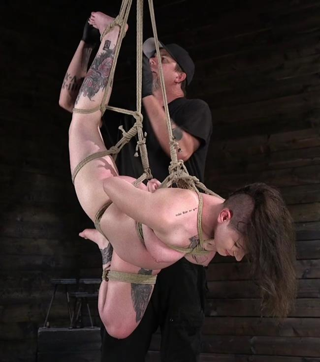 Paige Pierce - Pain Slut Paige Pierce Submits to Rope Bondage and Corporal Punishment [HD 720p] - Kink/HogTied