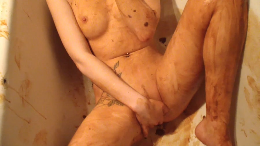 AstraCelestial - Loosing Scat Virginity. Part 2 - Scat Extreme - FullHD 1080p