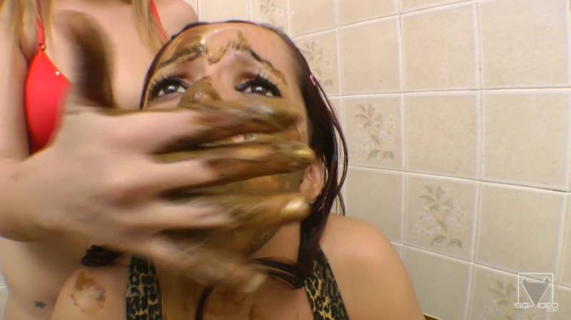 Anny - Scat Toilette Fight By Anny Portilla (Scat / DepFile) SG-Video [FullHD 1080p]