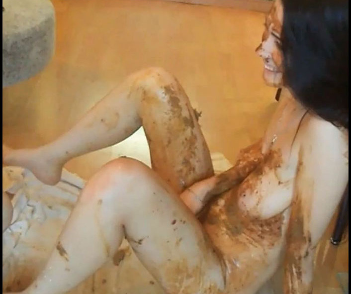 Matilda and Leona - ShitFuck me, Bitch. Second Camera Great Footage. Part 2 (Scatting Domination, Big pile, New scat)  [FullHD 1080p]