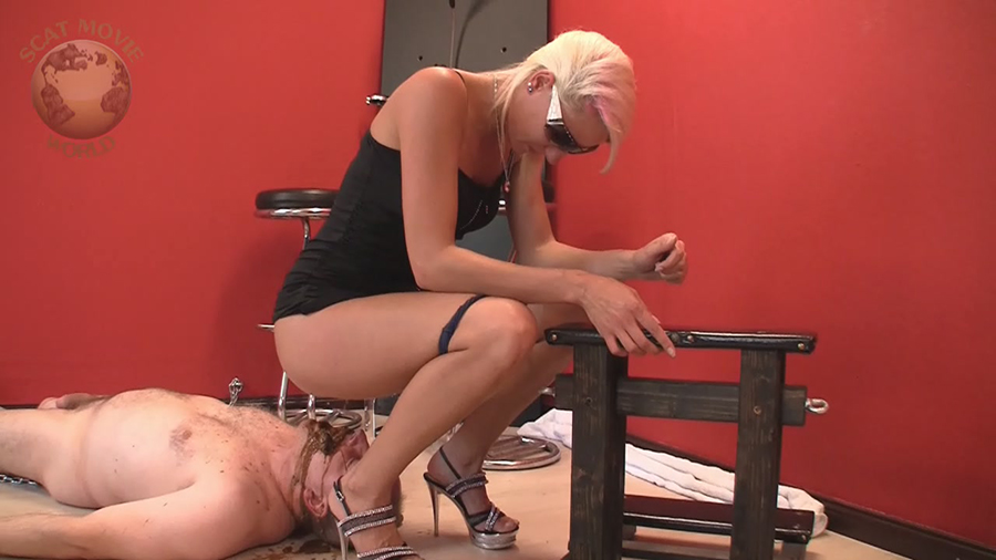 Lady Chantal, Miss Cherie - Very dirty scat session (Scat, Pissing, Femdom, Humiliation) - Scat-Movie-World [HD 720p]