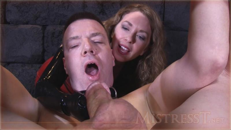 Clips4Sale.com - Mistress T - Extreme Humiliating Bound Milking! [HD / 2016]