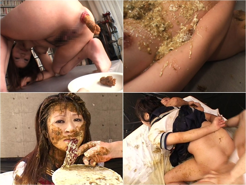 TinaAmazon - SHIT AND VOMIT TWO HOLE SCAT SEX TRANSFORMATION OF SAILOR GIRL JAPAN - SD