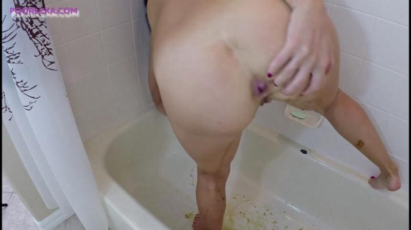 Alexa (Jessica Valentino) - Full Ass Cleanse (Scat / USA) PooAlexa [FullHD 1080p]