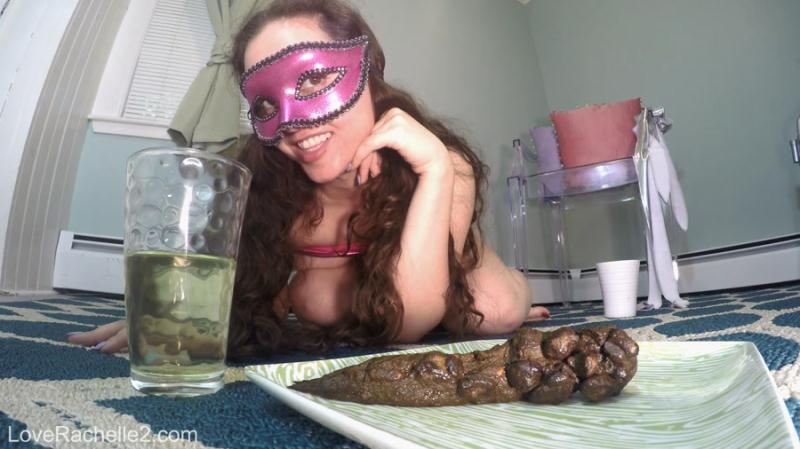 LoveRachelle2 - Piss & Shit Meal Just For You (Poop Videos / Solo) Extreme Defecation [FullHD 1080p]