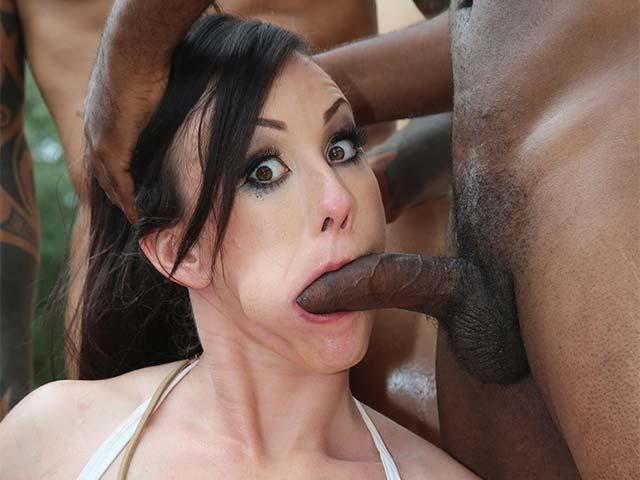 InterracialBlowbang.com / DogFartNetwork.com - Jennifer White [SD, 432p]