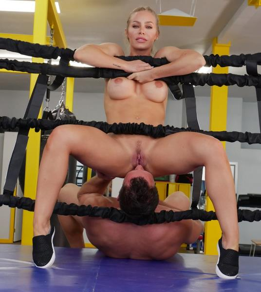 AssParade / BangBros - Nicole Aniston - Creampie During A Hard Work Out [SD 480p]
