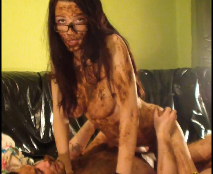 Matilda Bad Teacher - Epic Amature Scat Fucking Couple Part 3 (Poopping, Shitting, Big pile, Scat)  [FullHD 1080p]