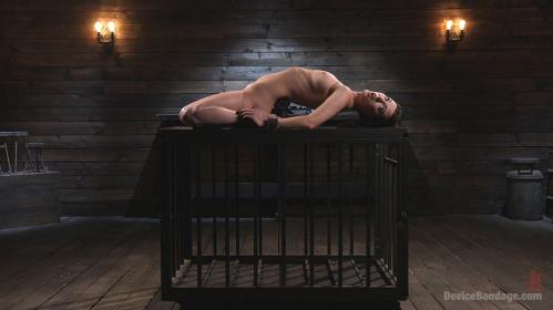 Cherry Torn - Female Slave Cherry Torn Tormented In Metal Bondage And Coerced Orgasm [HD, 720p] [DeviceBondage.com / Kink.com]