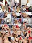 PornDoePremium: Klara - Hot Czech MILF Klara gets DP in hot threesome with stepson and friend [854p]