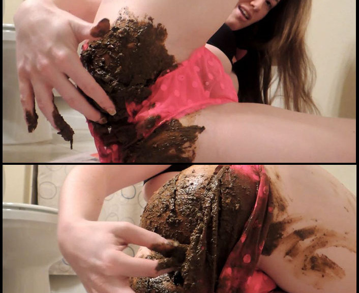 FernandaScat - ReleaseSheer Panty Upclose Shit Smear (Big Pile, Dirty, Scat)  [FullHD 1080p]