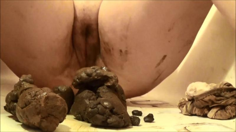 SamanthaStarfish - Satin Panty Series – Parts 2 (Poop / Solo Scat) Extreme Scat [FullHD 1080p]