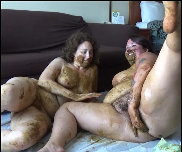 Samantha Starfish and Scat Goddess - Behind The Scenes With Amanda - Defecation Extreme - HD 720p