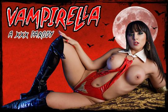 vrcosplayx: Alba De Silva - Vampirella A XXX Parody [VR Porn] (2K UHD/1440p/3.31 GB) 13.11.2017