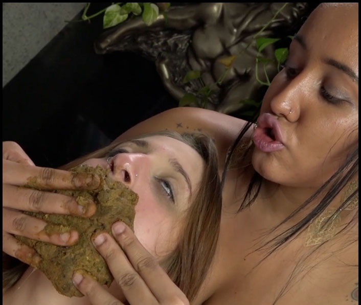 Sophia Faber And Penelope - Enormous Big Scat By Sophia Faber And Penelope – Take My Enormous Shit In Your Little Sweet Mouth (Lesbian Scat, Scat Girls) - Lesbian Scat Domination [SD]