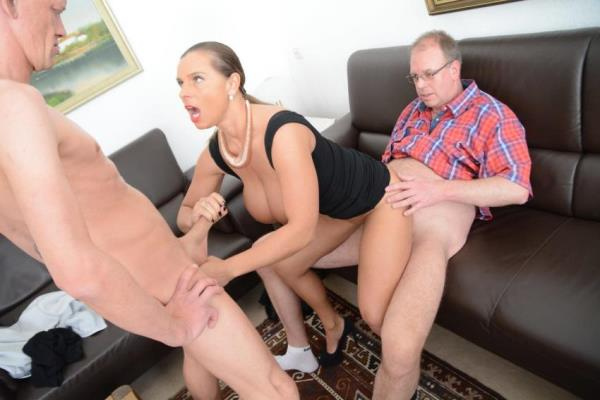 Susi - Sexy Susi in German threesome  [FullHD 1080p]
