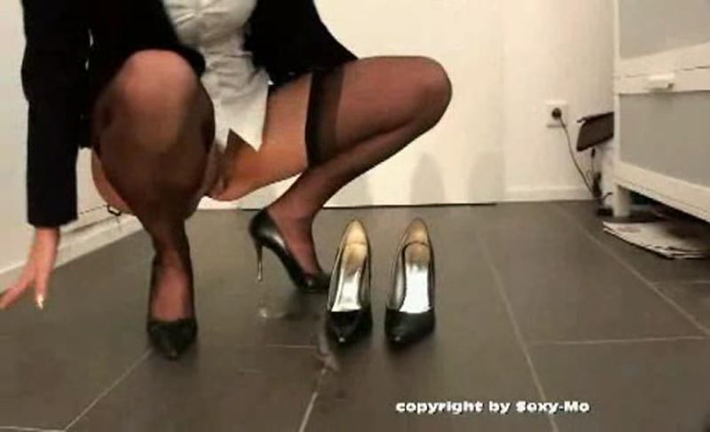 ShitGirl - Scat Secretary (Germany, Solo Scat) Z-Faktor Medien [DVDRip]