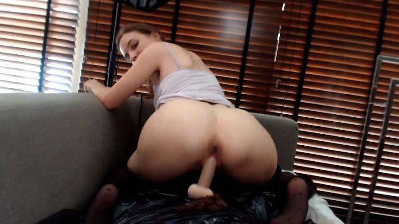 LittleMissKinky - Totally perverse part 2 (Shit Masturbation, Toys) Mega Fart Girl [FullHD 1080p]