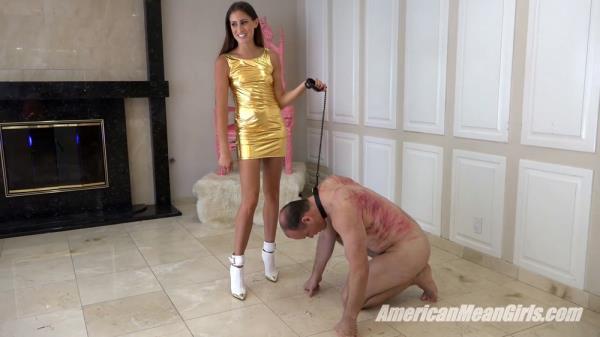 AmericanMeanGirls - Princess Beverly - Kicking Princess Bella's Slave [FullHD, 1080p]