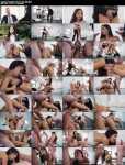 Julia de Lucia - Horny secretary in a threesome with DP (Private) - [HD 720p]