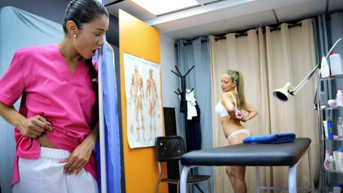 Helena Kramer & Jade - A very physical therapist [TheFuckingClinic, CumLouder] 540p