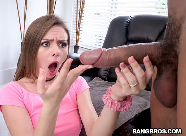 Alex Blake - Alex Blake takes on a Monster Cock [BangBros, MonstersOfCock / SD]