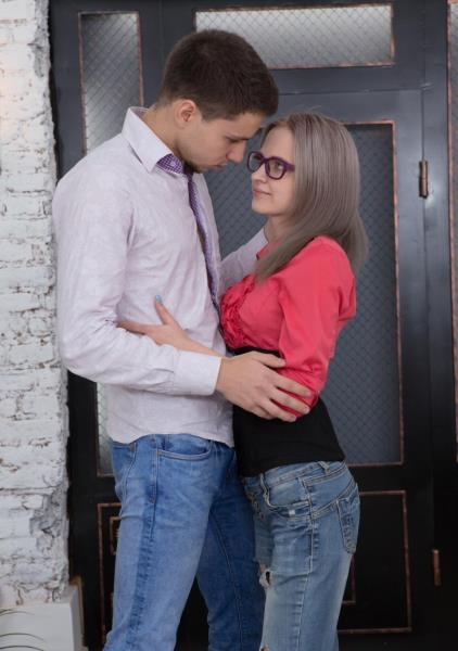 Herda Wisky - The Random Sex Encounter with a Nerdy Blonde (2017/SD)