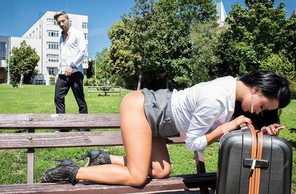 BitchesAbroad/PornDoePremium - Daphne Klyde - Ukrainian tourist Daphne Klyde orgasms intensely in wild fuck abroad [FullHD 1080p]