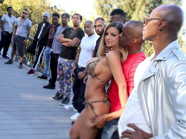 Brooklyn Chase - BlowBang [DogFartNetwork, InterracialBlowbang / SD]