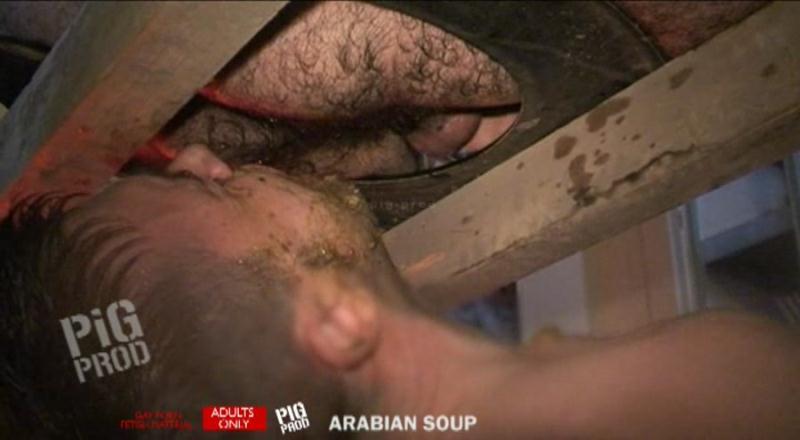 Pig Prod - Arabian Soup (Gay Porn Scat) Man Scat [SD]