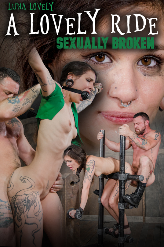 SexuallyBroken: Luna Lovely - A Lovely Ride (HD/720p/1.65 GB) 16.12.2017